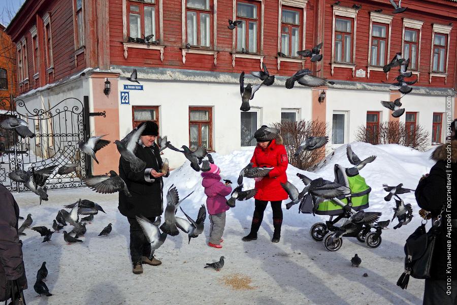 Егорьевск. Площадь Александра Невского