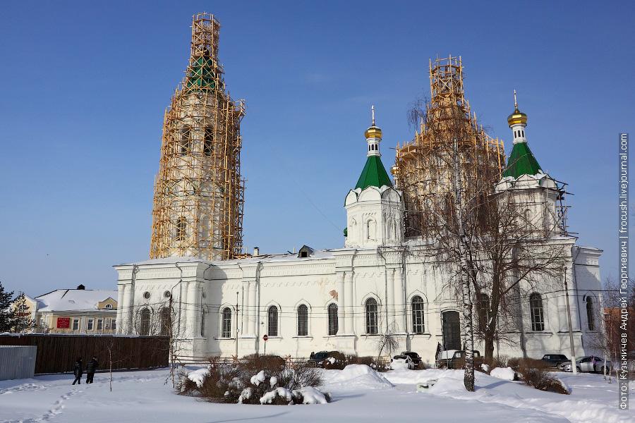 Храм Святого благоверного князя Александра Невского в Егорьевске
