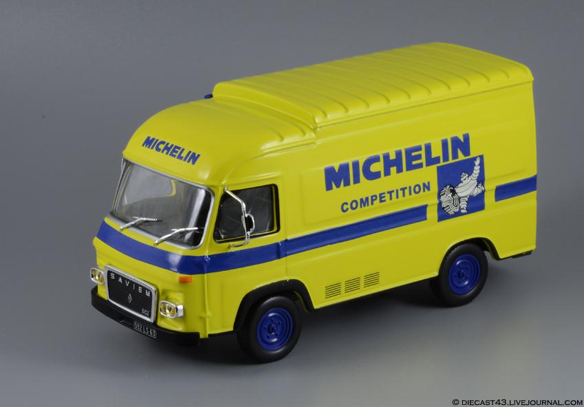 Le Saviem SG2 commercialisée par Altaya est celui du Service compétition de Michelin