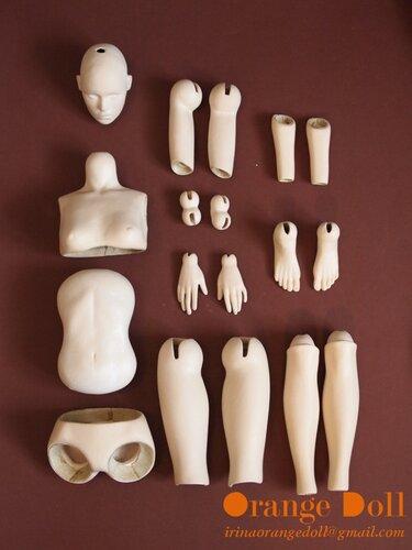 Создание шарнирной куклы своими руками