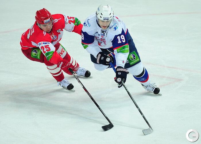 «Спартак» vs СКА 4:2 чемпионат КХЛ 2011-2012 (Фото)