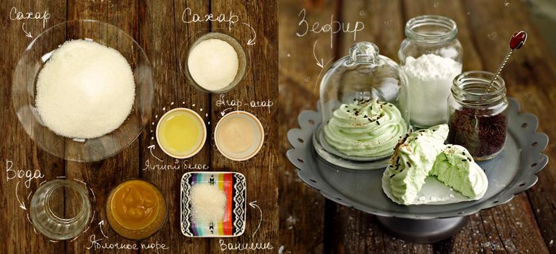 Домашний зефир - пошаговый рецепт с фото #2.