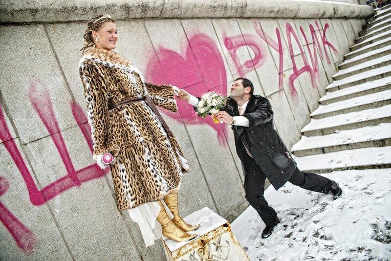 фотоальбом: красивые свадебные фотографии