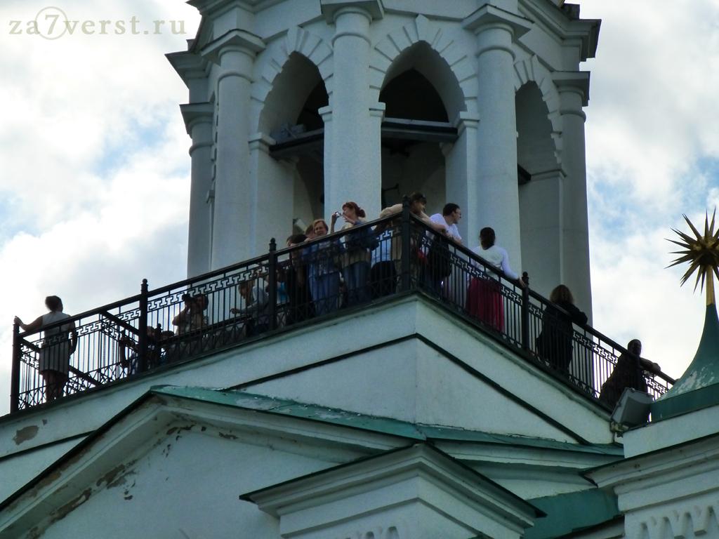 Ярославский кремль смотровая площадка