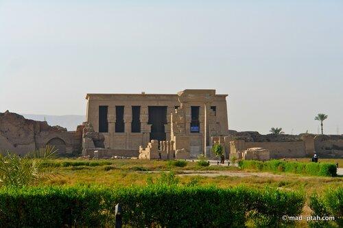 египет, храм богини хатхор, дендеры