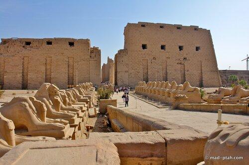 карнак, луксор, египет