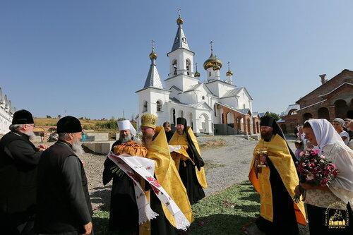 Блаженнейший митрополит Онуфрий в Адамовке. 23 сентября 2015 г.
