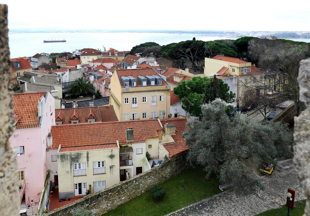 Lisbon. St. George's Castle. Citadel