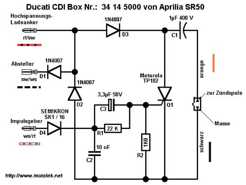 Схема коммутатора 4х тактного