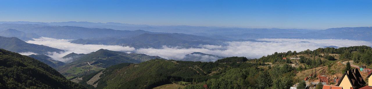 Панорама с Копаоника