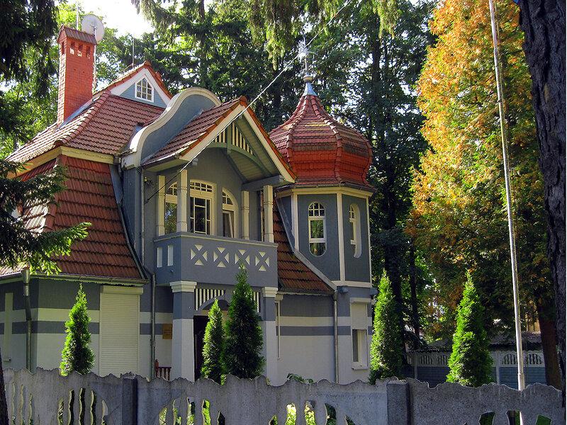 Красивые домики...