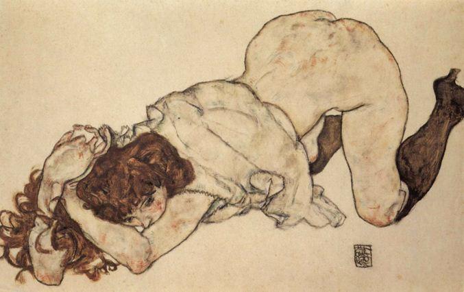 Картина Эгона Шиле