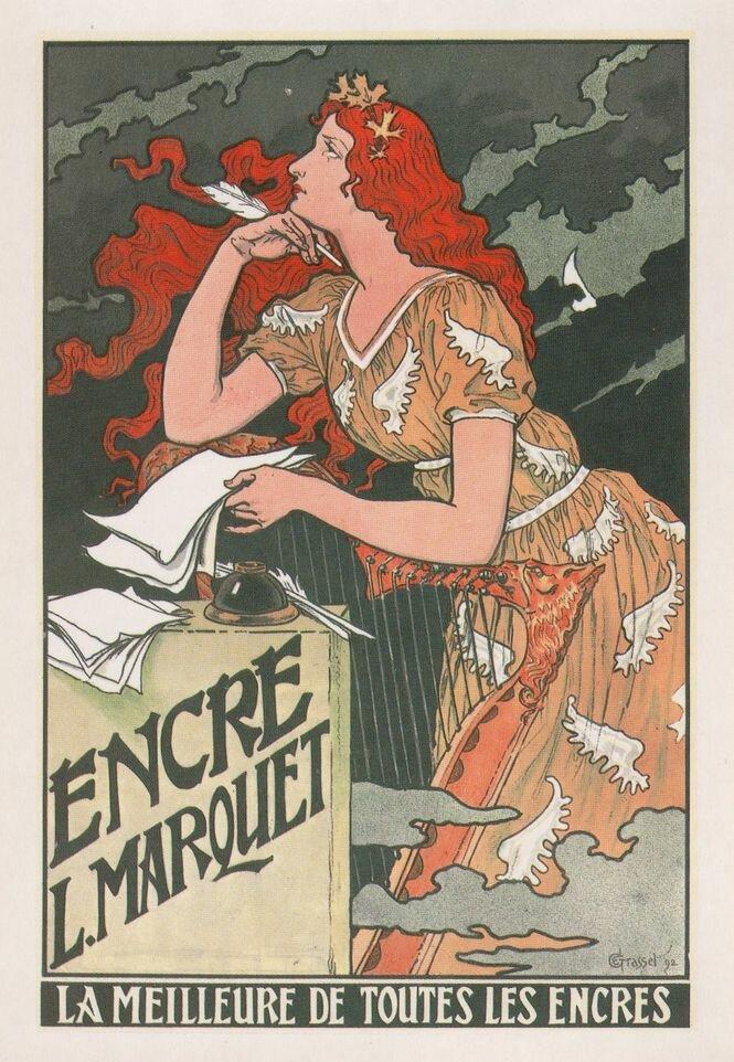 Календарь Eugene Grasset