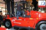 Новинка вилочный автопогрузчик KALMAR пользуется большим интересом у посетителей выставки CeMAT 2011