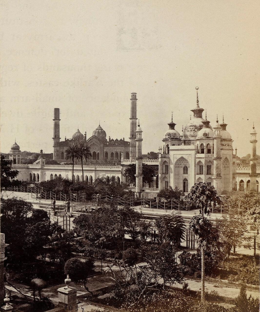 23. Вид с террасы Хуссейнабад Имамбаре, Лакхнау