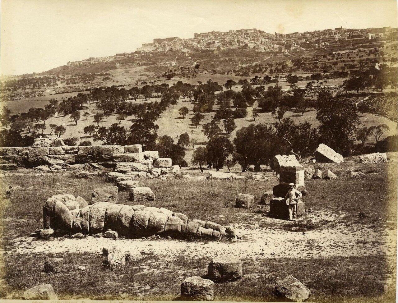 Агригентум. Храм Зевса