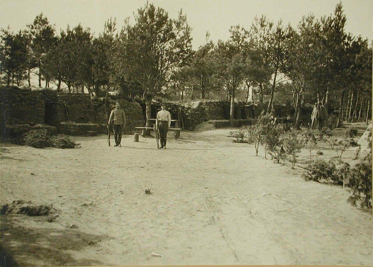 11. Вид защитных сооружений для VI-го эскадрона гусарского полка