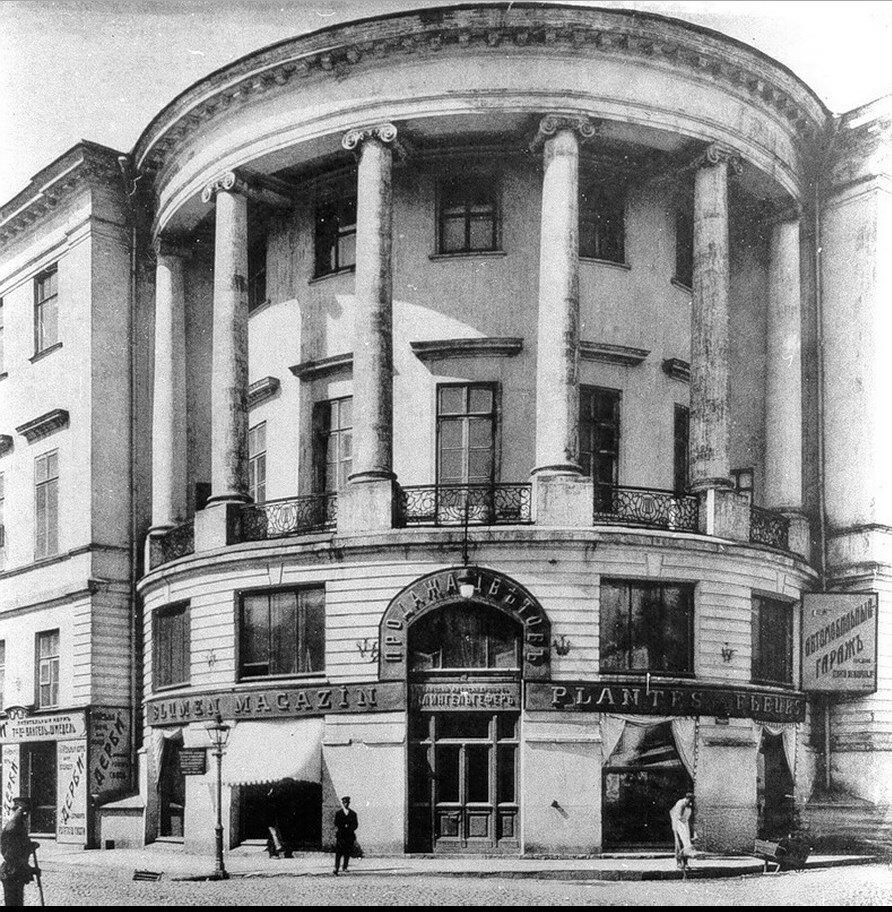 503. Дом Юшкова на Мясницкой