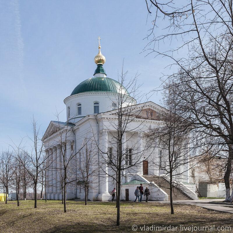 Ильинско-Тихоновская церковь. Ярославль. Золотое Кольцо.