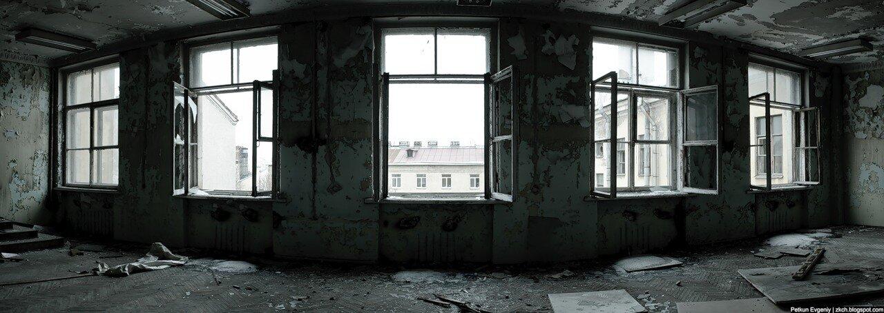 Петкун Евгений, фото, фотография: Заброшенный НИИ