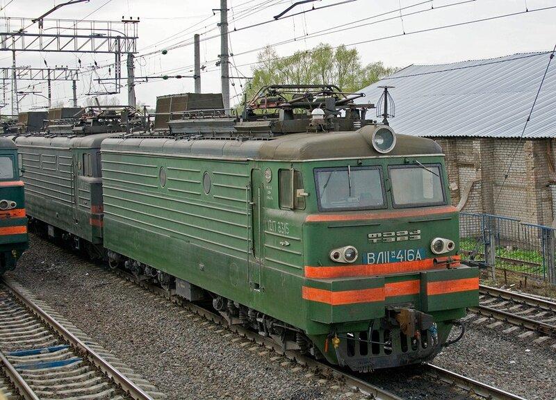 АДМщик.  ВЛ11М-416А.  Просмотров:190 Автор.