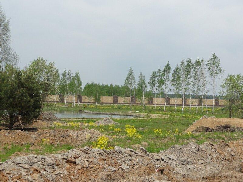 Озеро в ЖК Покровский