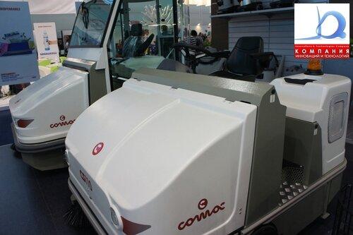 Современные подметальные машины COMAC