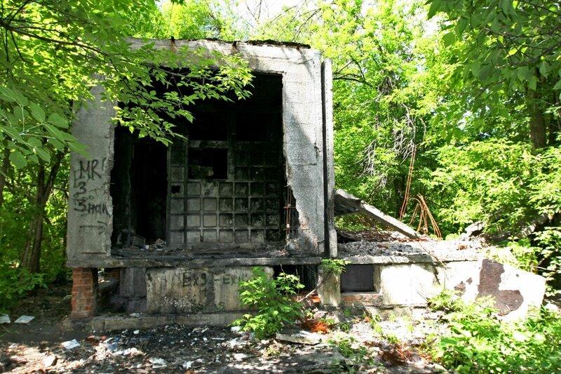 Трансформаторная будка Карантина ВДНХ