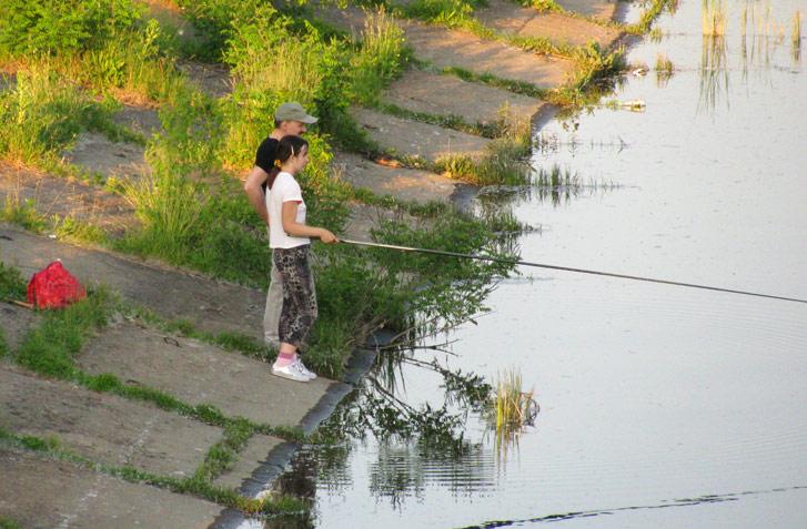 рыбалка на канале в киеве