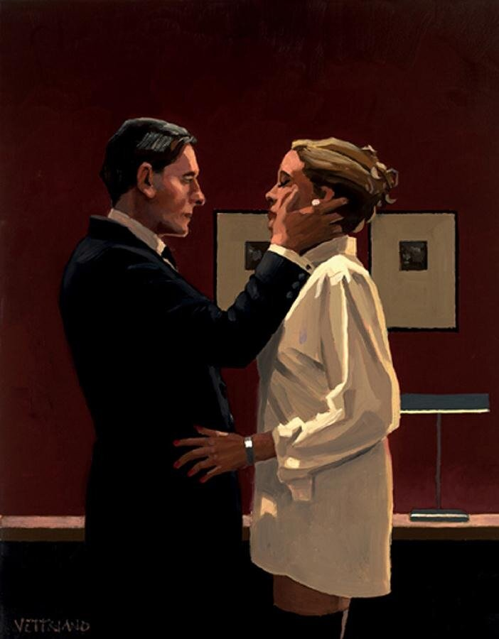 Confession, by Jack Vettriano