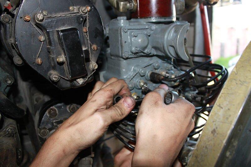 Установка НВ-82 на мотор