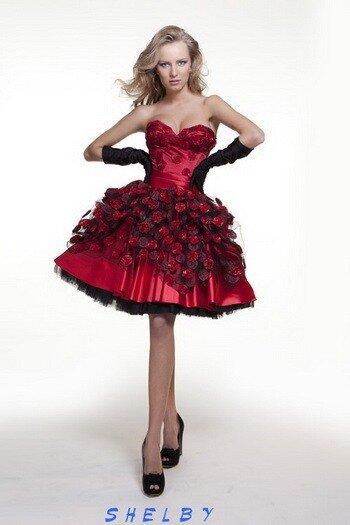 Вечерние платья Шелби из коллекции Оксана Муха - свадебный салон Эльза.