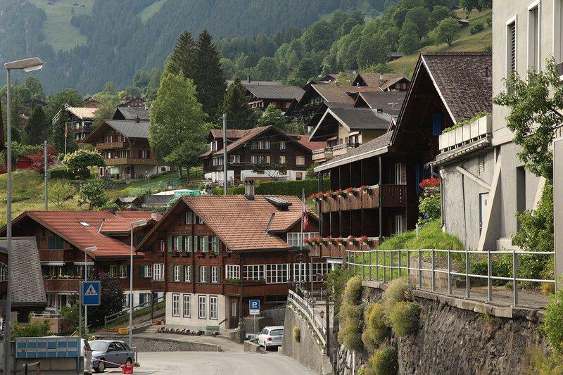 частой сверловке швейцария городок мелиде фотографии города пресс
