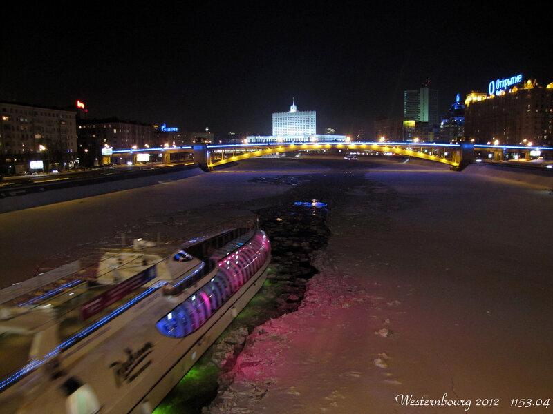 1153.04 Зимняя навигация на Москве-реке.
