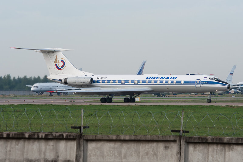 Туполев Ту-134А-3 (RA-65117) Orenair DSC2631