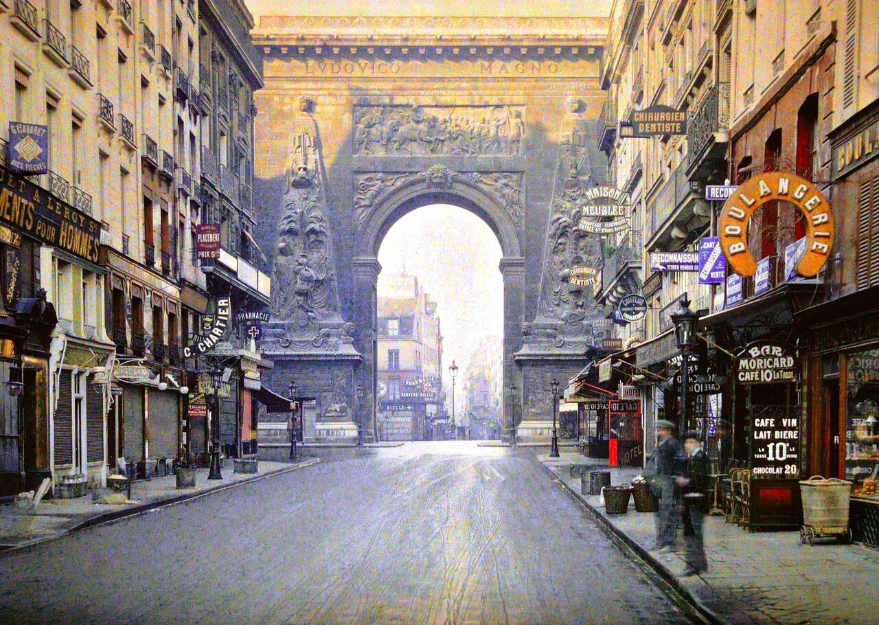 1914 Rue du Faubourg Saint Denis Paris.jpeg