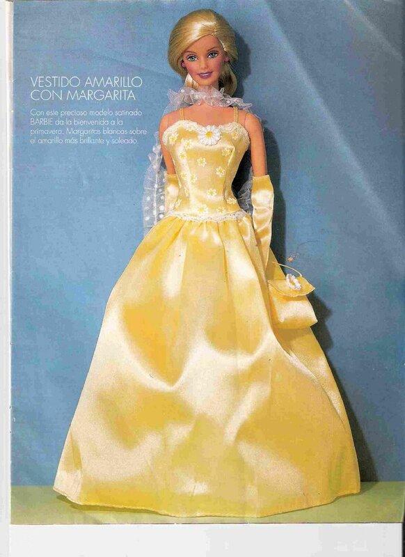 Как сшить красивое платье для куклы своими руками