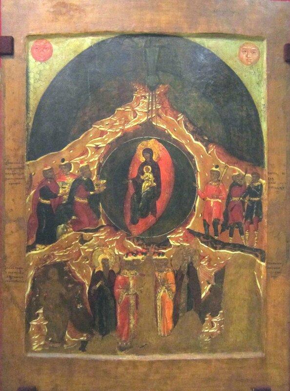 Собор Пресвятой Богородицы. Первая половина XVII века. Средняя Русь.