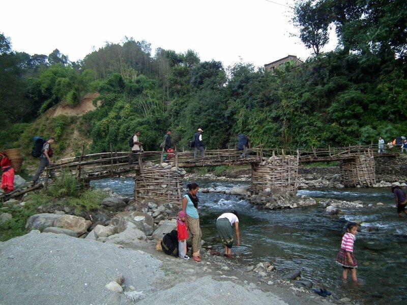 Мост через Мукти Кхолу в Аругат Базаре