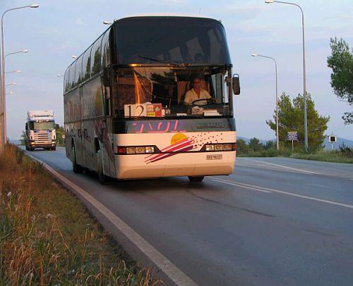 Bus in Greece