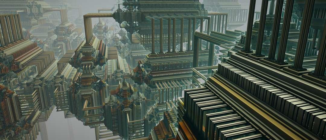 Красота и сложность фракталов в работах бывшего физика-лазерщика Тома Беддарда /Tom Beddard