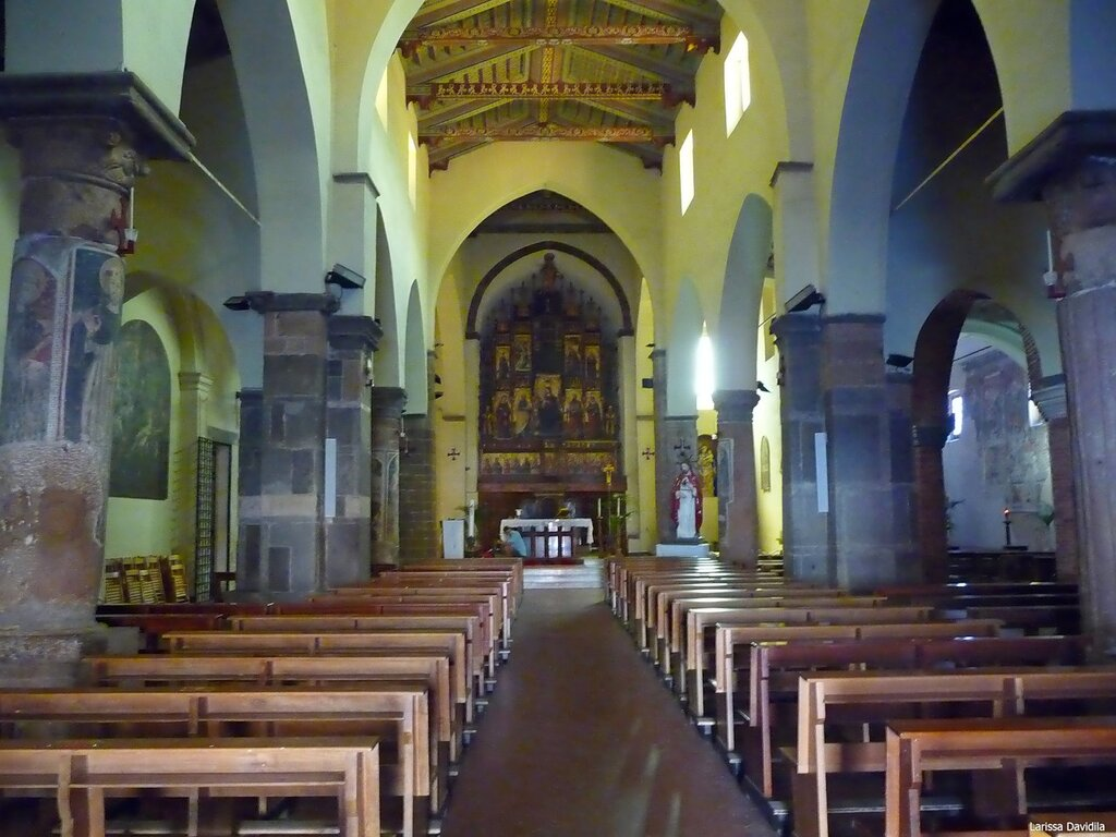Интерьер церкви Matrice Vecchia. Castelbuono.