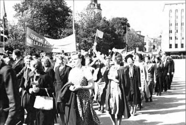 Демонстрации за присоединение Прибалтики к СССР