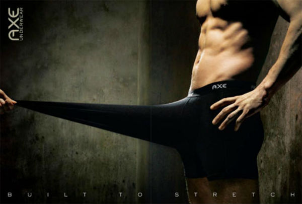 Креатив в рекламе нижнего белья