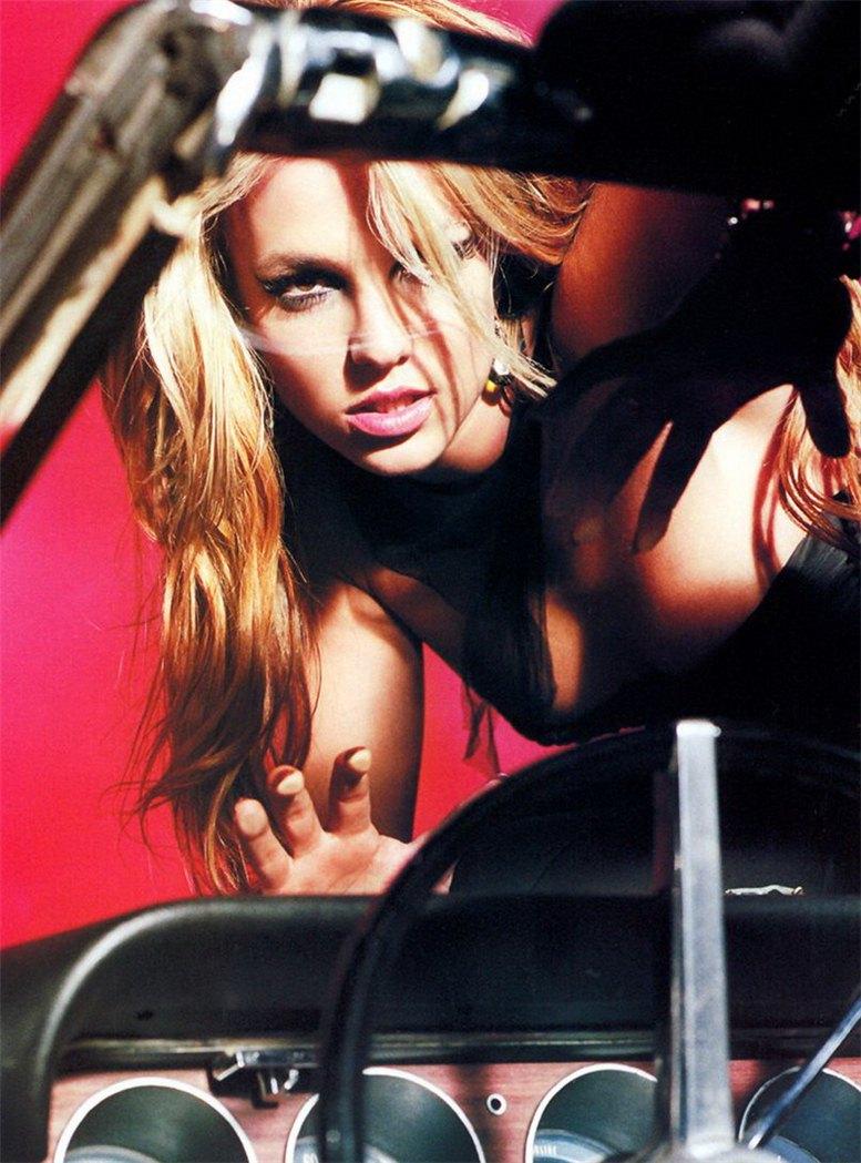 модель Бритни Спирс / Britney Spears, фотограф Ellen von Unwerth