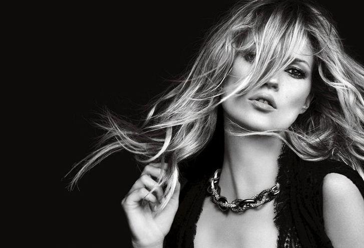 модель Кейт Мосс / Kate Moss, фотограф Peter Lindbergh