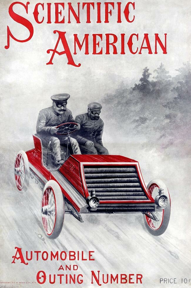 Картинки для декупажа.  Ретро-автомобили.  Часть 1. Одним архивом.