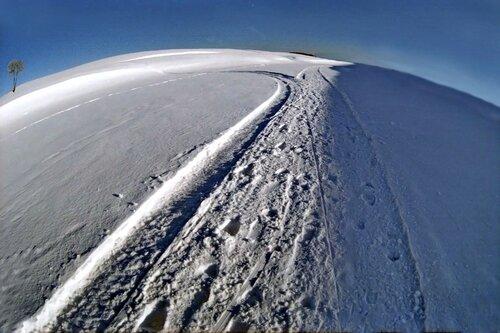 Зимняя сторона земли