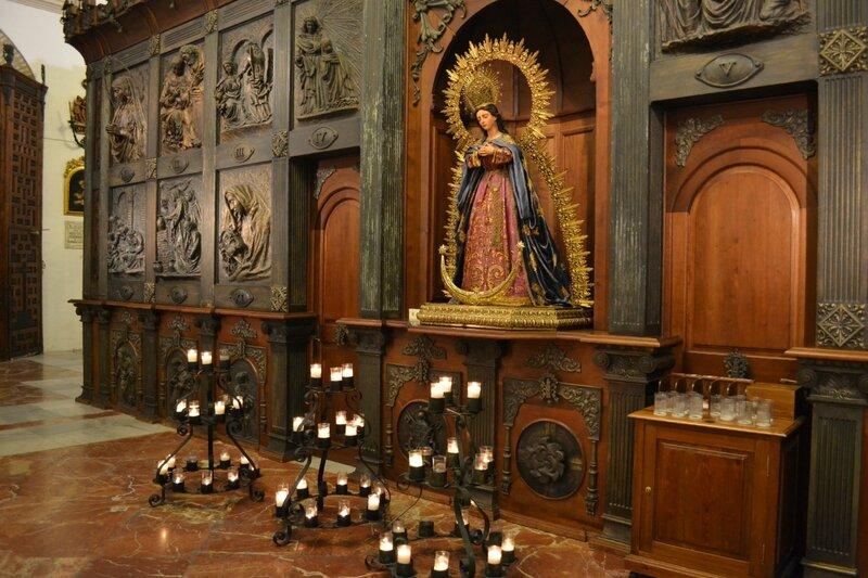 В церкви Санта Мария ла Майор