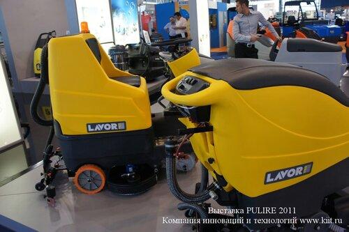 Продажа поломоечных машин LAVORPRO в России КИИТ